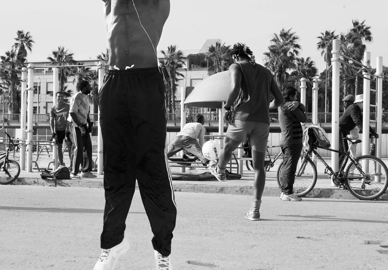 Reportage Barcelona Fitness